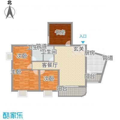 华联大厦 4室 户型图