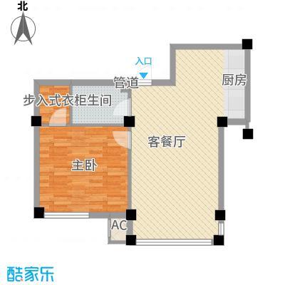 1室户型图