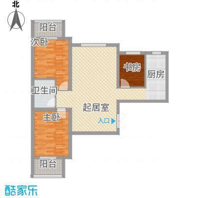 东铂城111.54㎡东铂城户型图a5户型3室2厅1卫户型3室2厅1卫