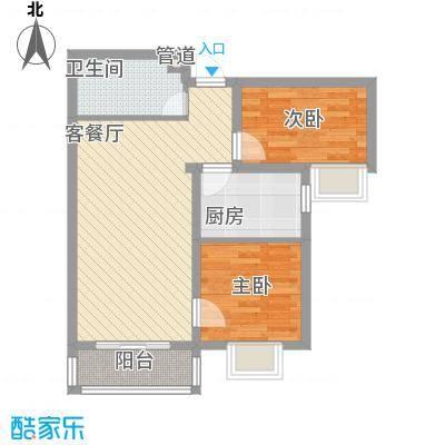 金域名邸78.00㎡金域名邸户型图E2户型2室2厅1卫1厨户型2室2厅1卫1厨