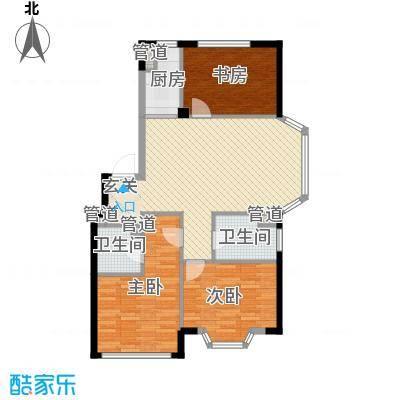颐莲家园113.00㎡颐莲家园户型图14#楼F户型3室2厅2卫1厨户型3室2厅2卫1厨