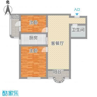 盛滨花园103.56㎡盛滨花园户型图2室2厅户型10室
