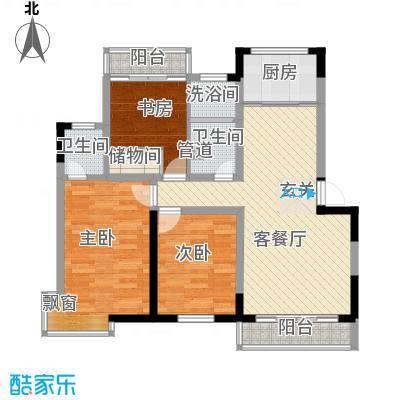 宝带新村112.00㎡宝带新村3室户型3室