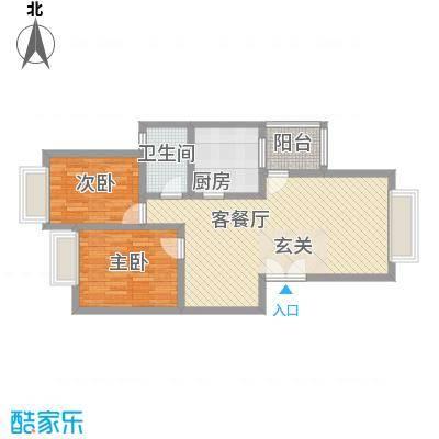 兴隆城市花园怡水园85.00㎡兴隆城市花园怡水园2室户型2室