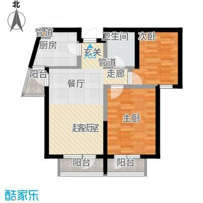 金丰花园98.00㎡金丰花园3室户型3室