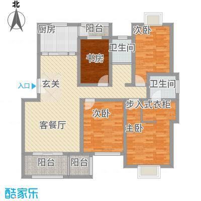 东方百合园158.00㎡东方百合园户型图豪华舒适居4室2厅2卫1厨户型4室2厅2卫1厨