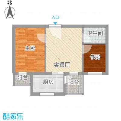 龙王塘一号55.00㎡龙王塘一号户型图1号楼A户型图2室2厅1卫1厨户型2室2厅1卫1厨