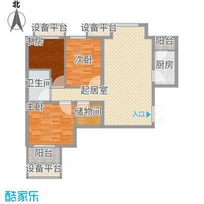 学府・未来城131.00㎡学府・未来城户型图14#B户型3室2厅2卫1厨户型3室2厅2卫1厨