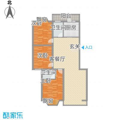 盛世华庭B6145.20㎡盛世华庭B6户型图A户型3室2厅2卫户型3室2厅2卫