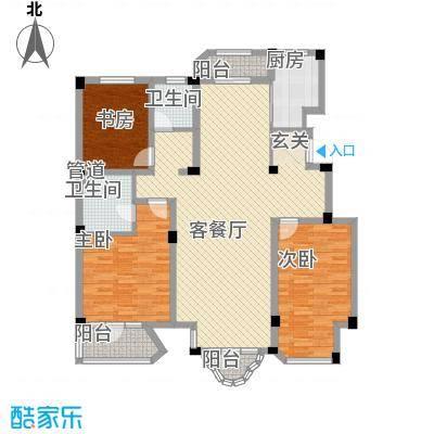开世嘉年147.00㎡开世嘉年户型图6号楼A户型3室2厅2卫1厨户型3室2厅2卫1厨