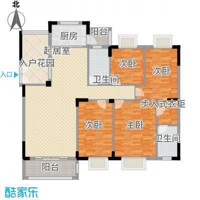 金椅豪园别墅金椅豪园别墅户型图金椅豪园4室2厅2卫1厨户型4室2厅2卫1厨