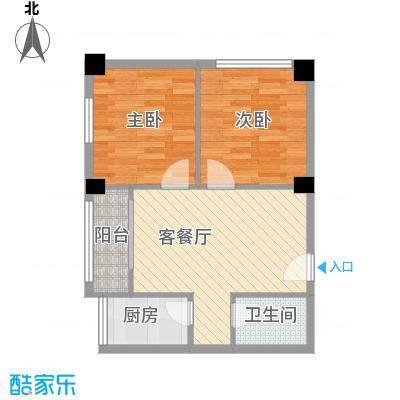 万颐苑万颐苑户型图600x602室户型2室