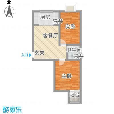 朝阳苑朝阳苑户型图0963785_cb62室1厅1卫1厨户型2室1厅1卫1厨