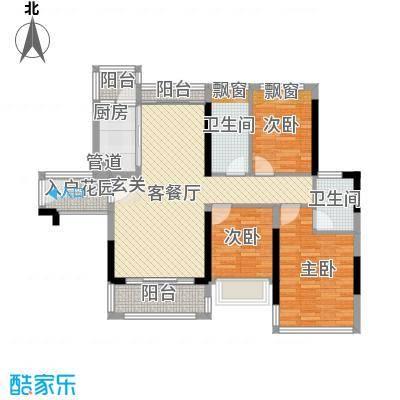 盈丰花园94.00㎡盈丰花园3室户型3室