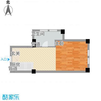 想想大厦56.00㎡想想大厦户型图J户型1室1厅1卫1厨户型1室1厅1卫1厨