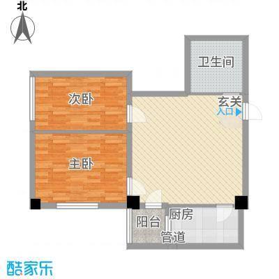 想想大厦90.00㎡想想大厦户型图D户型2室1厅1卫1厨户型2室1厅1卫1厨