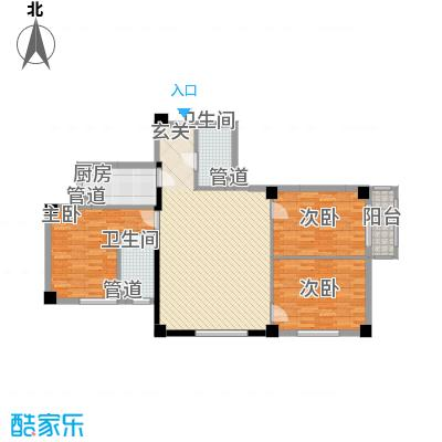 想想大厦130.00㎡想想大厦户型图I户型3室1厅1卫1厨户型3室1厅1卫1厨
