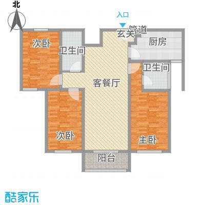 五龙花园五龙花园户型图样板间户型10室