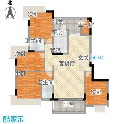 万江住宅89.00㎡万江住宅3室户型3室