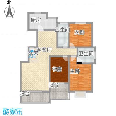 春城国际147.92㎡春城国际户型图135A户型3室2厅2卫1厨户型3室2厅2卫1厨