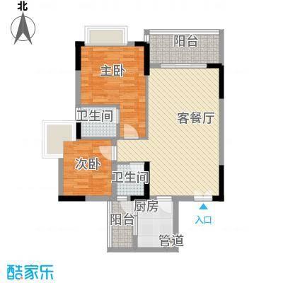 滨江豪园117.00㎡滨江豪园3室户型3室