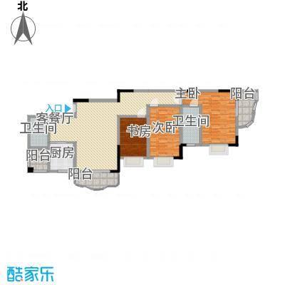 大朗中心花园三期144.80㎡大朗中心花园三期2室户型2室