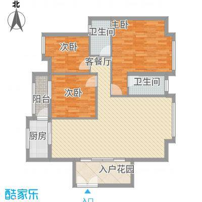 名汇城市花园127.49㎡名汇城市花园户型图83室2厅2卫1厨户型3室2厅2卫1厨