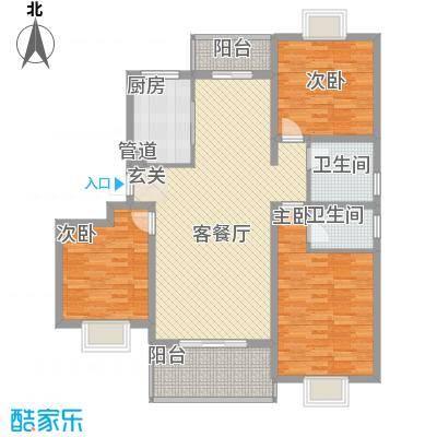 文鹤翠园146.00㎡文鹤翠园3室户型3室