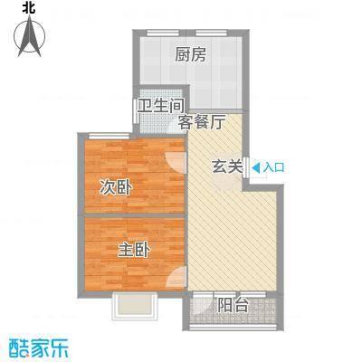 鑫馨佳园70.54㎡鑫馨佳园户型图2室2厅1卫1厨户型10室