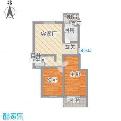 瘦西湖新苑70.00㎡瘦西湖新苑2室户型2室