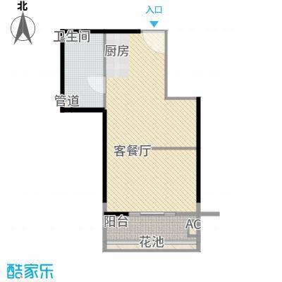 东方瑞景108.00㎡东方瑞景户型图1室1厅1卫1厨户型10室