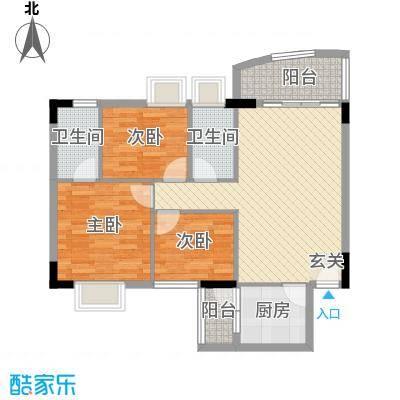 东田丽园100.00㎡东田丽园户型10室