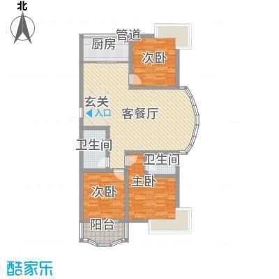 振兴花园振兴花园户型图2010051419595961393室户型3室