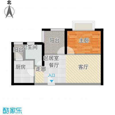 嘉湖山庄嘉湖山庄1室2厅户型1室2厅