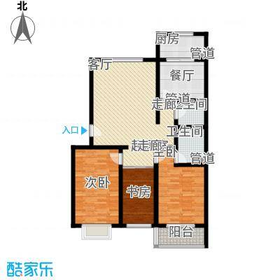 乐活城三期乐活城三期户型图F户型3室2厅2卫1厨户型3室2厅2卫1厨