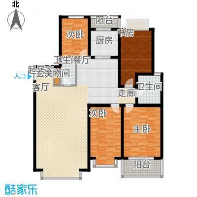 三晋绿苑户型3室