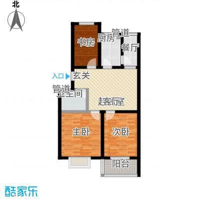 乐活城三期乐活城三期户型图L户型3室2厅1卫1厨户型3室2厅1卫1厨
