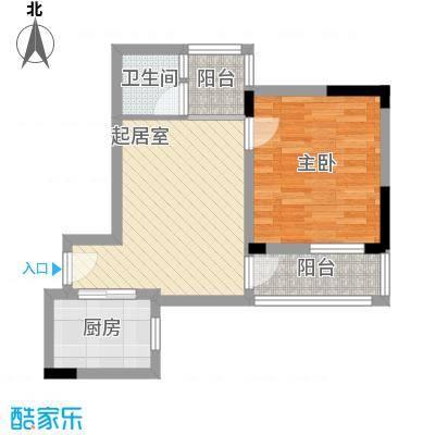 美好家园73.00㎡美好家园1室户型1室