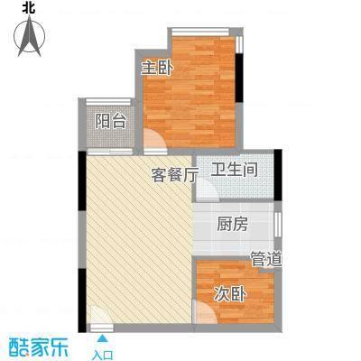 美好家园47.00㎡美好家园2室户型2室