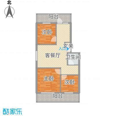 太航世纪205.00㎡太航世纪4室户型4室
