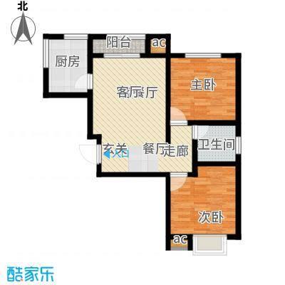 世纪城国际公馆一期1000.00㎡世纪城国际公馆2室户型2室