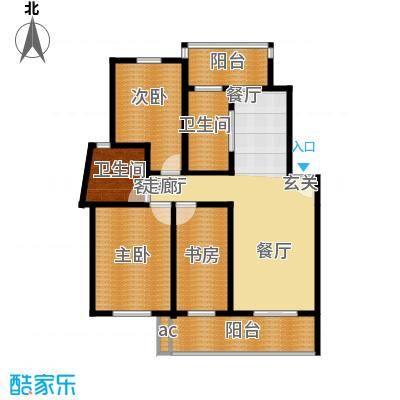 世纪城国际公馆一期142.00㎡世纪城国际公馆3室户型3室