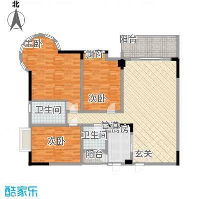 星河传说聚星岛A区189.26㎡星河传说聚星岛A区户型图4室2厅3卫1厨户型10室