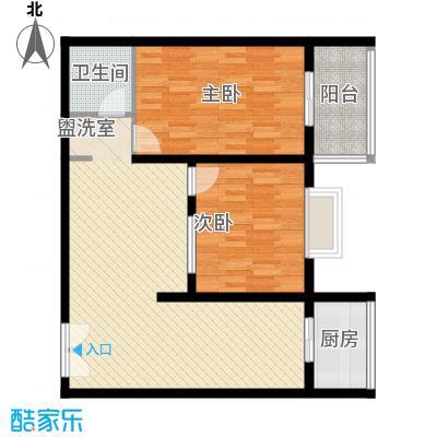 天和学府苑99.12㎡天和学府苑户型图H户型2室2厅1卫户型2室2厅1卫