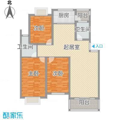 来鹤北苑[5)KB_6B6DOHHPY5]WRF207户型3室