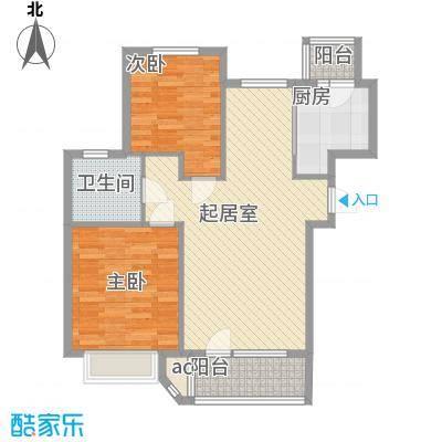 凤凰山花园凤凰山花园2室户型2室