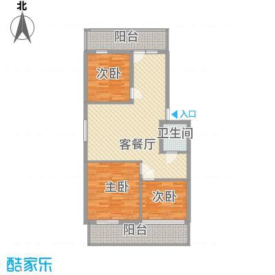 学府小区110.00㎡学府小区3室户型3室