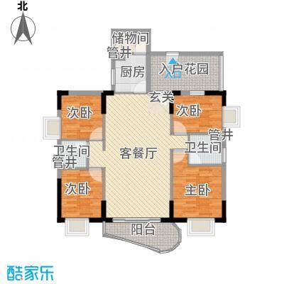 物资局宿舍130.00㎡物资局宿舍4室户型4室