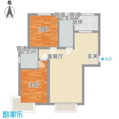 桃园新居162.00㎡桃园新居3室户型3室