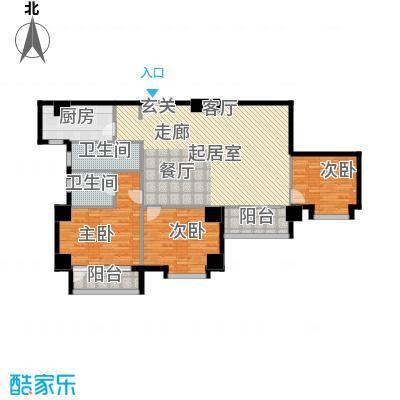 假日豪庭136.00㎡假日豪庭3室户型3室